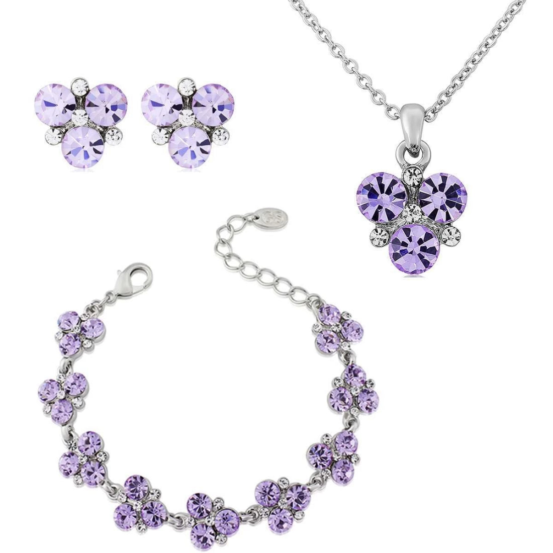 Allure of Lavender Jewellery Set