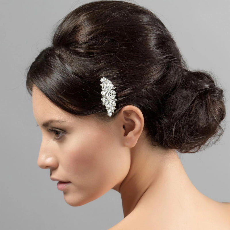 Angel's Kiss Floral Bridal Hair Comb