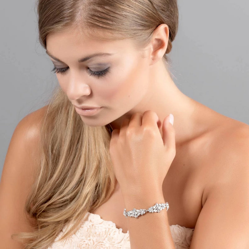 Bejewelled Starlet Wedding Bracelet