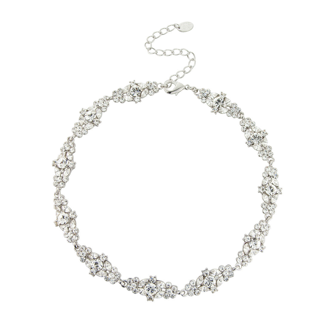 Bejewelled Starlet Bridal Collar Necklace
