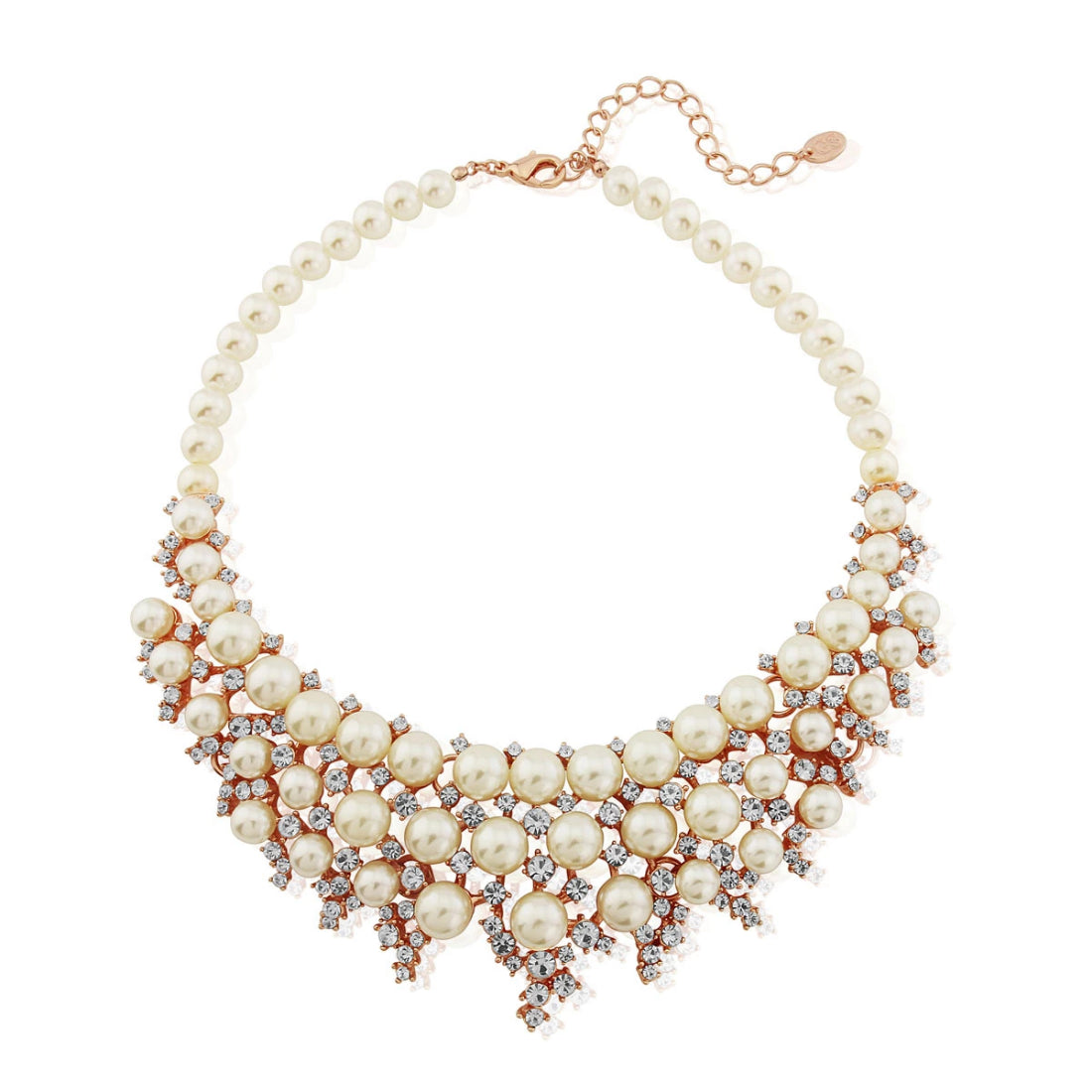 Blushing Romance Statement Collar Necklace