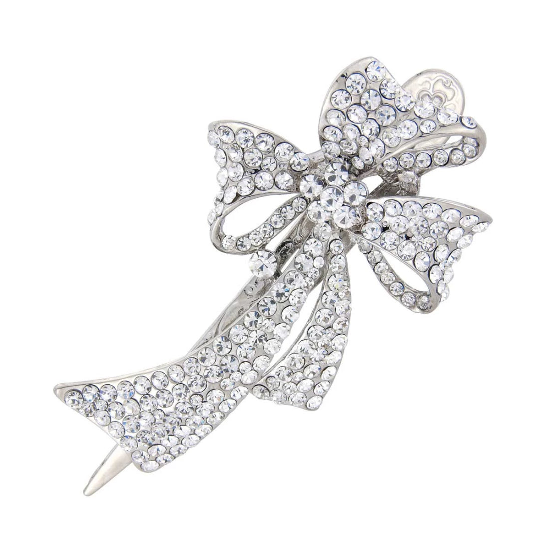 Bow of Extravagance Crystal Concord Clip