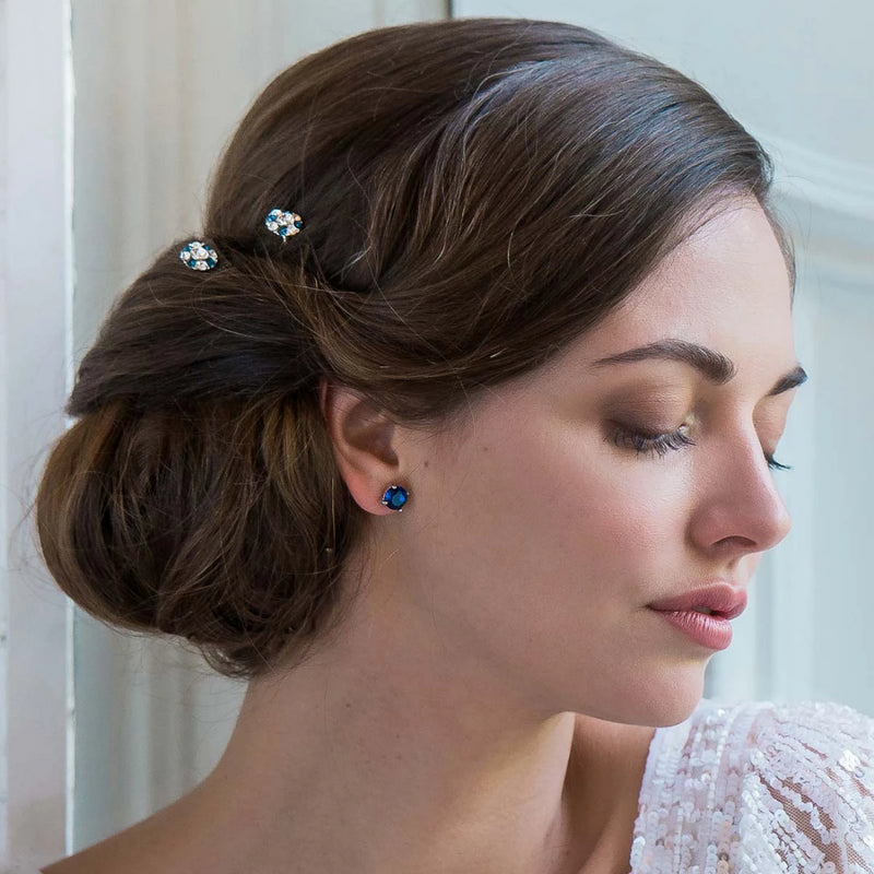 Classic in Midnight Blue Hair Pins
