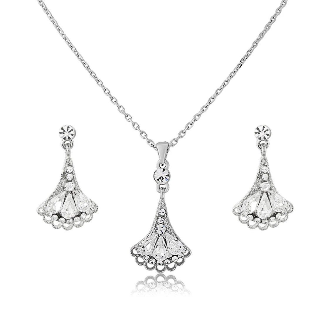 Deco Dream Crystal Jewellery Set