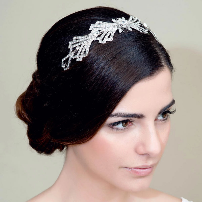 Deco Extravagance Wedding Tiara