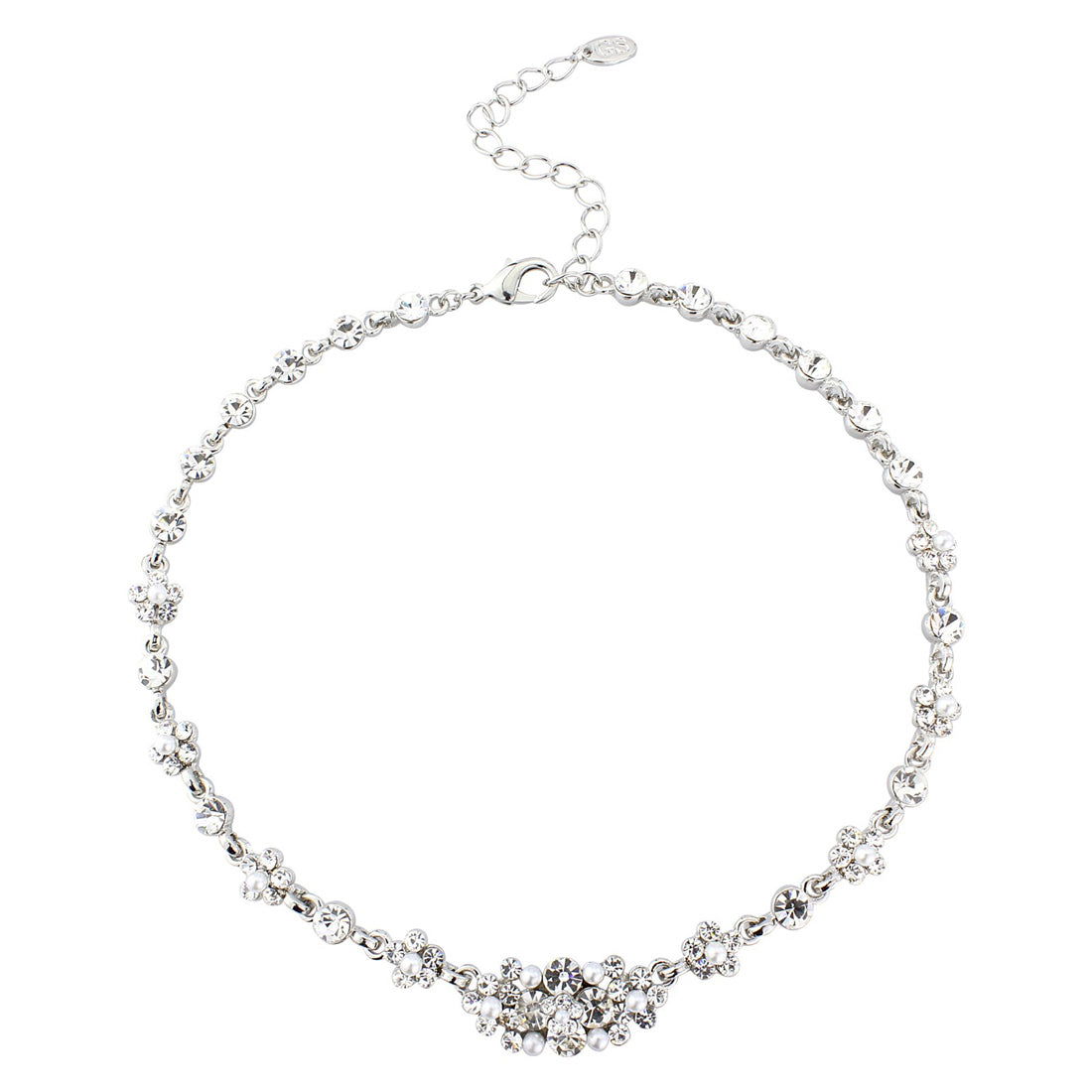 pave barrel dsf products necklace jewels micro baguette silver collections delicate