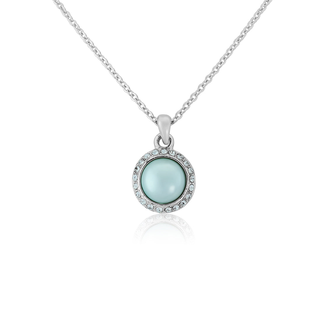 Duck Egg Dream Blue Pearl Pendant