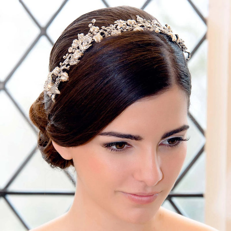 Enchanting Garland Wedding Tiara