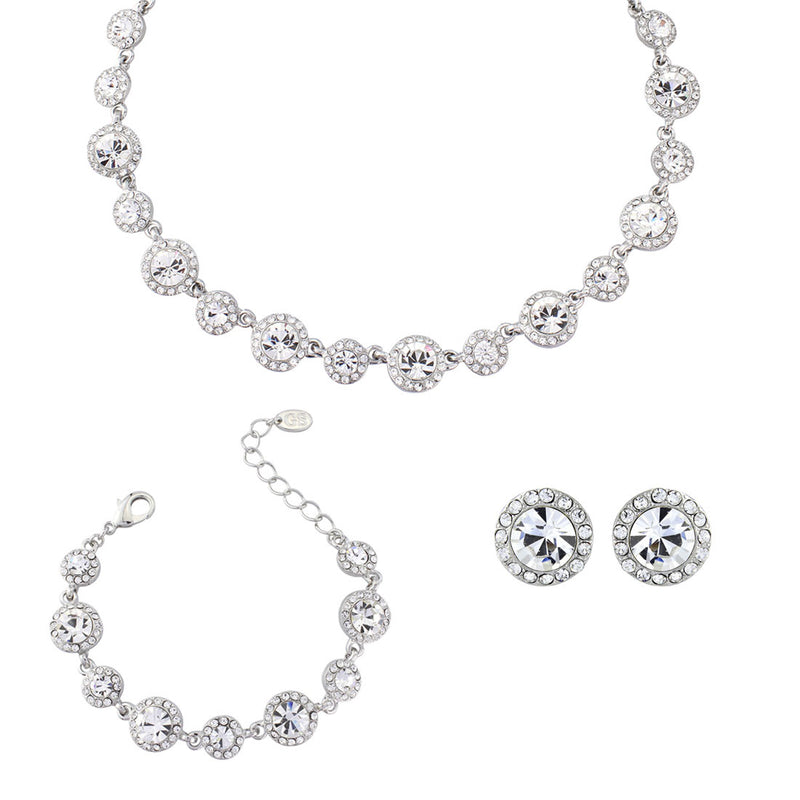 Eternally Timeless Crystal Jewellery Set