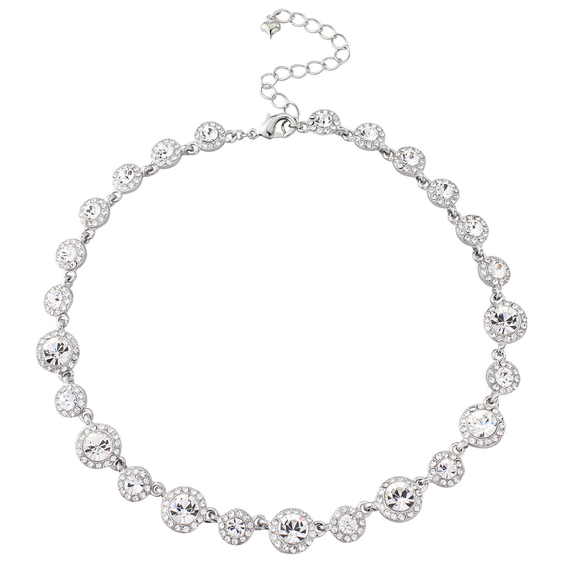 Eternally Timeless Crystal Necklace