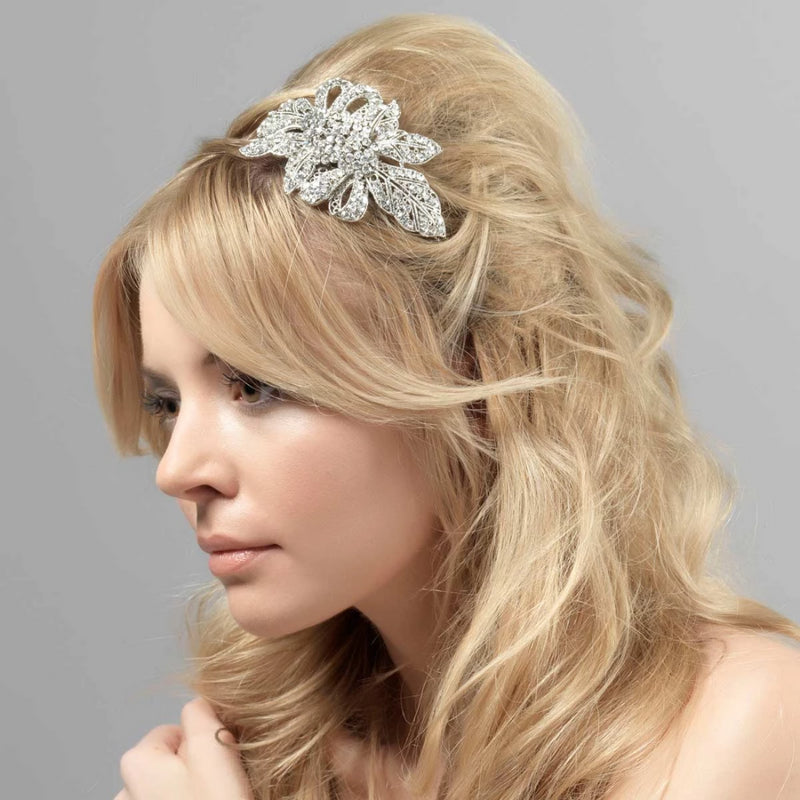 Exquisite Beauty Crystal Side Tiara