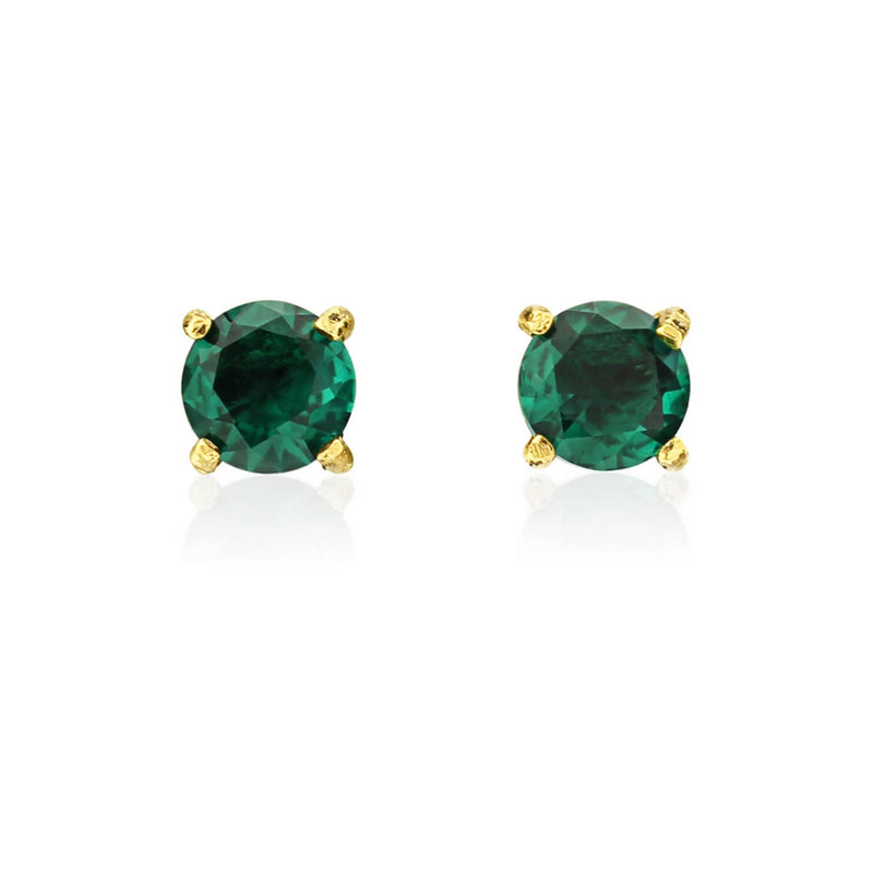 Exquisite in Emerald Crystal Stud Earrings