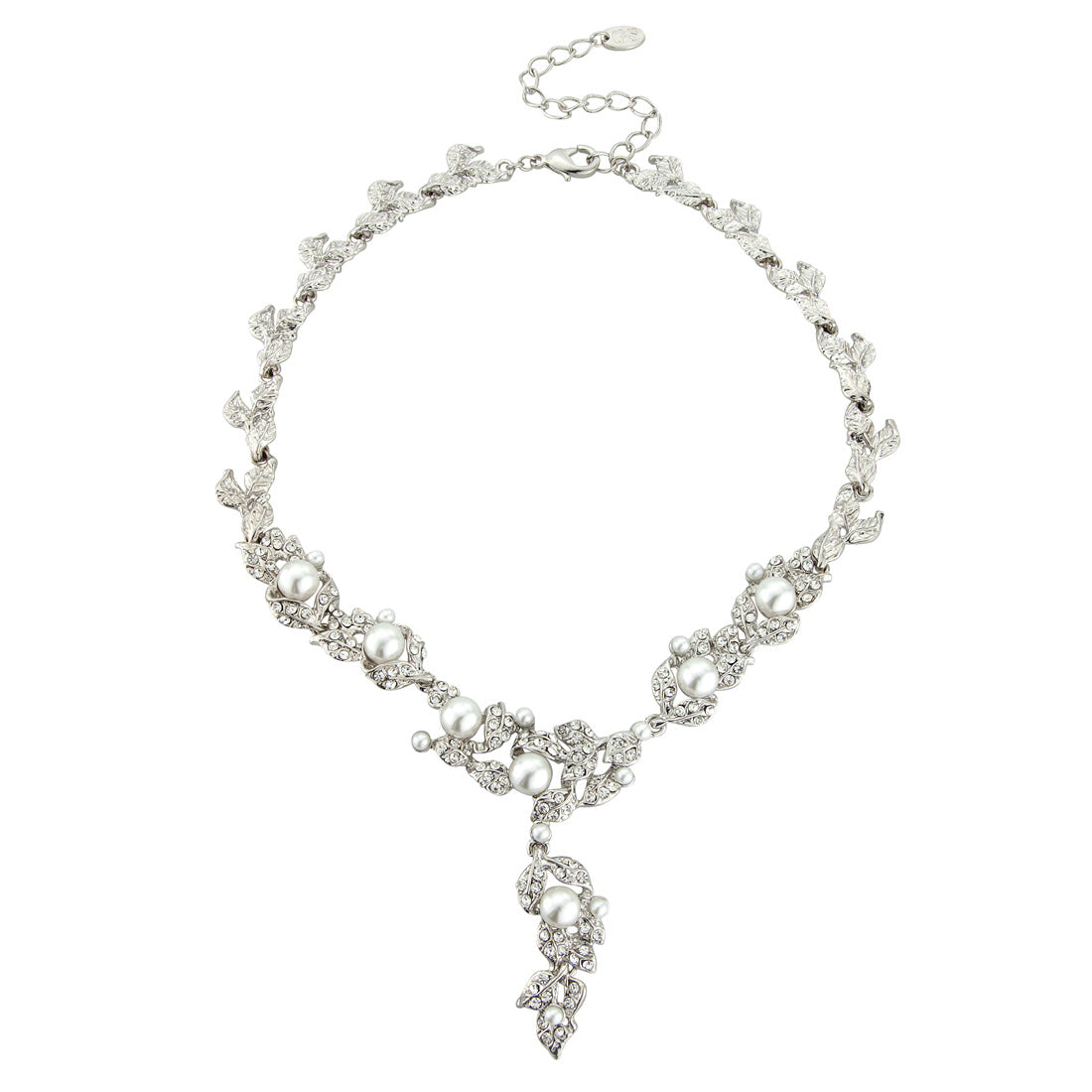 Extravagant in Pearls Vintage Style Necklace