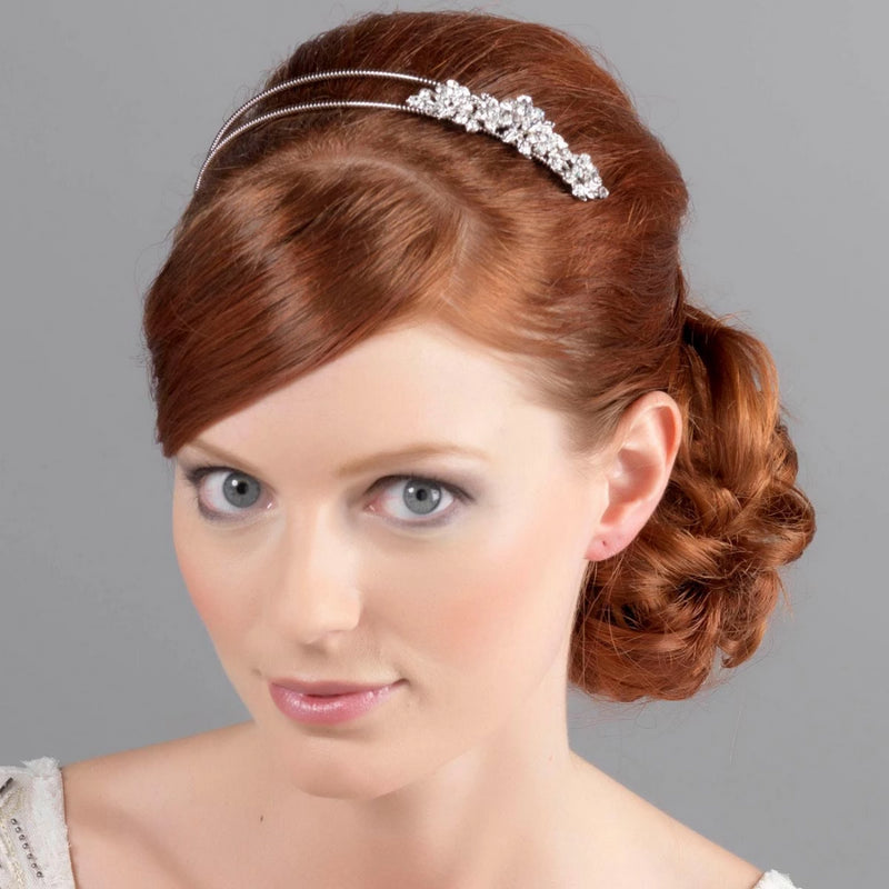 Garland of Love Vintage Wedding Headband