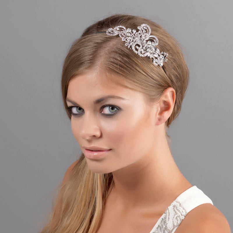 Heirloom of Charm Crystal Side Tiara