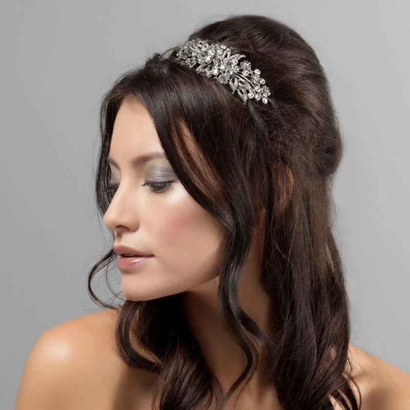 Heirloom of Yester Year Vintage style Side Tiara