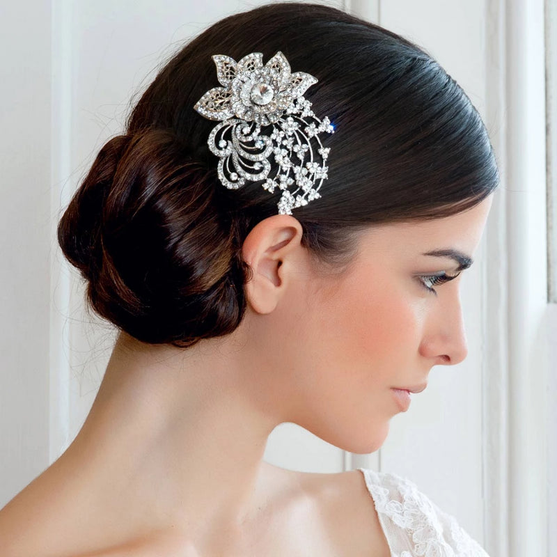 Heirloom Posy Bridal Headpiece