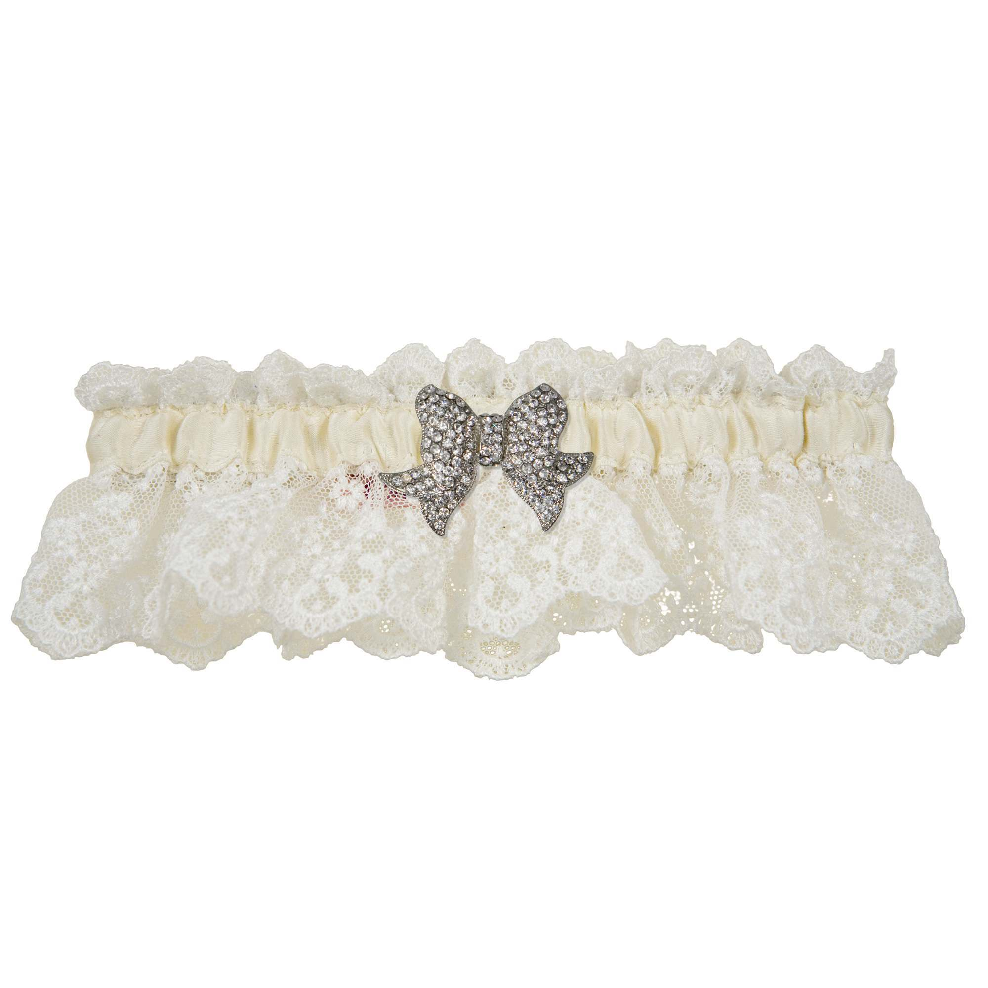 Love Wedding Garter - Ivory