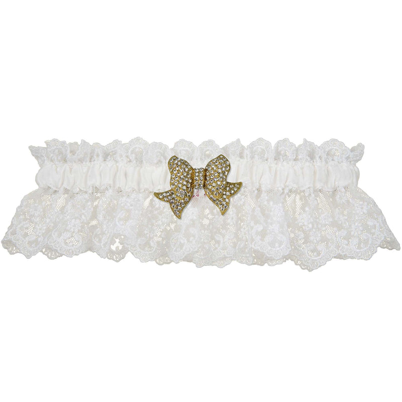 Love Wedding Garter - White