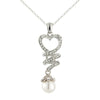 My Sweetheart Pearl Drop Pendant Necklace
