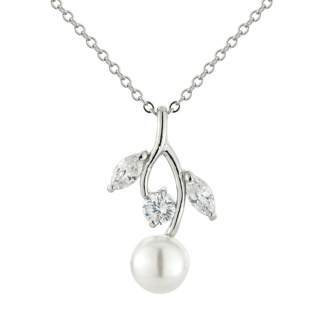 Pearl Wishes Wedding Pendant
