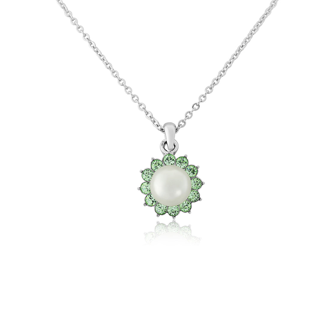 Perfect Pistachio Green Pearl Pendant