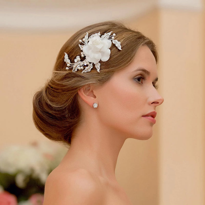 Petals of Eternity Bridal Hair Flower
