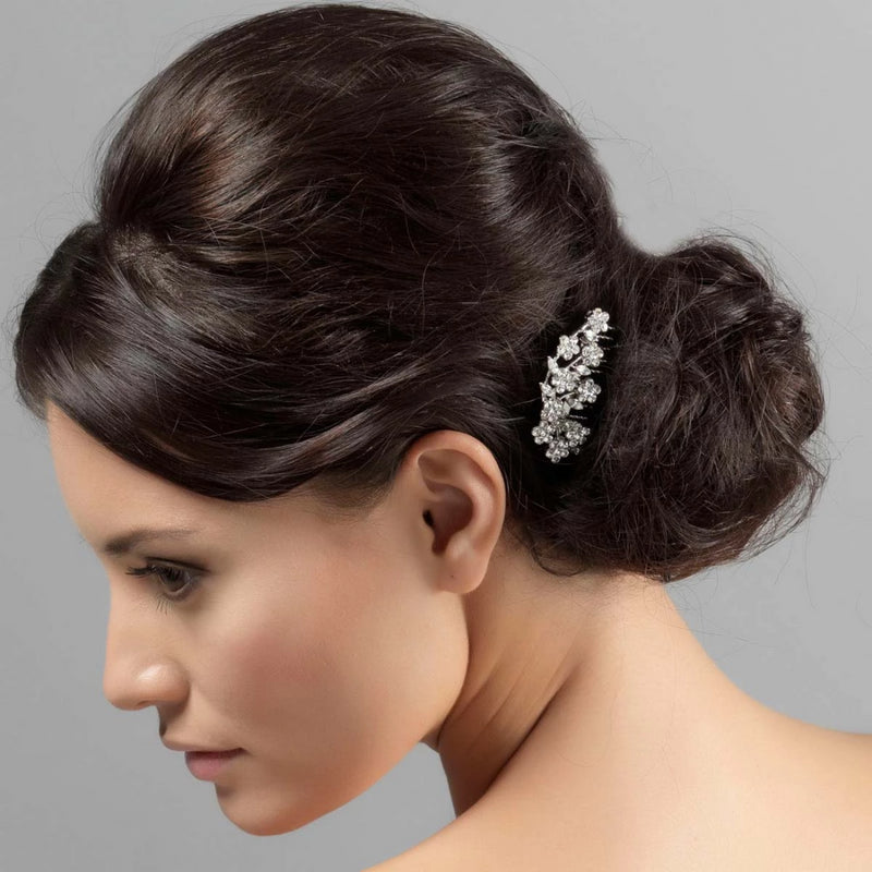 Petite Garland Crystal Wedding Hair Comb
