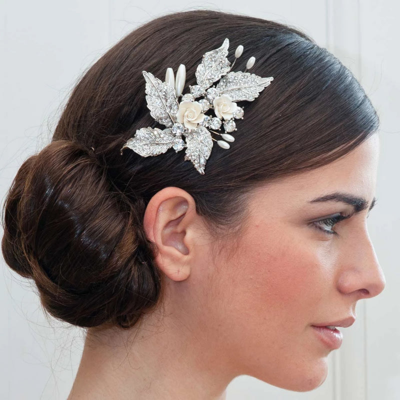 Posy of Beauty Vintage Wedding Headpiece