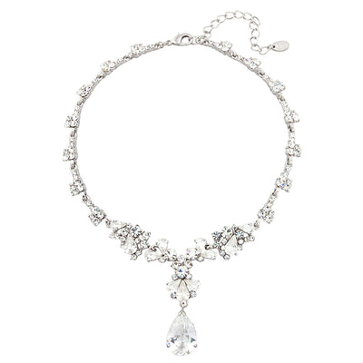 Precious Heiress Cubic Zirconia Necklace