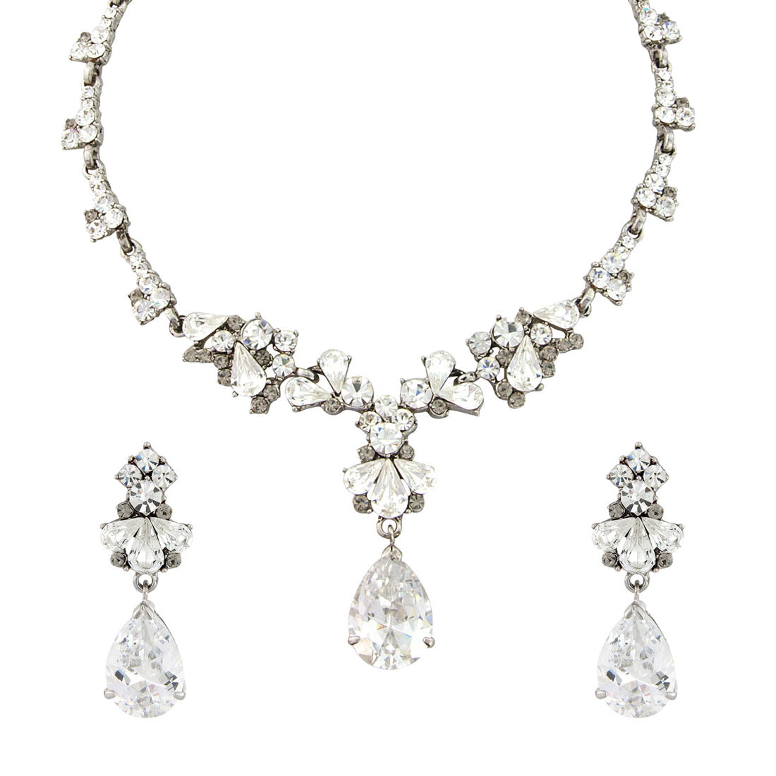 Precious Treasure Crystal Jewellery Set