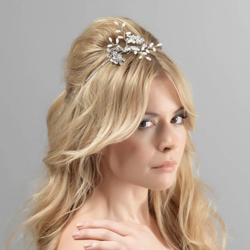 Pure Grace Bridal Side Tiara