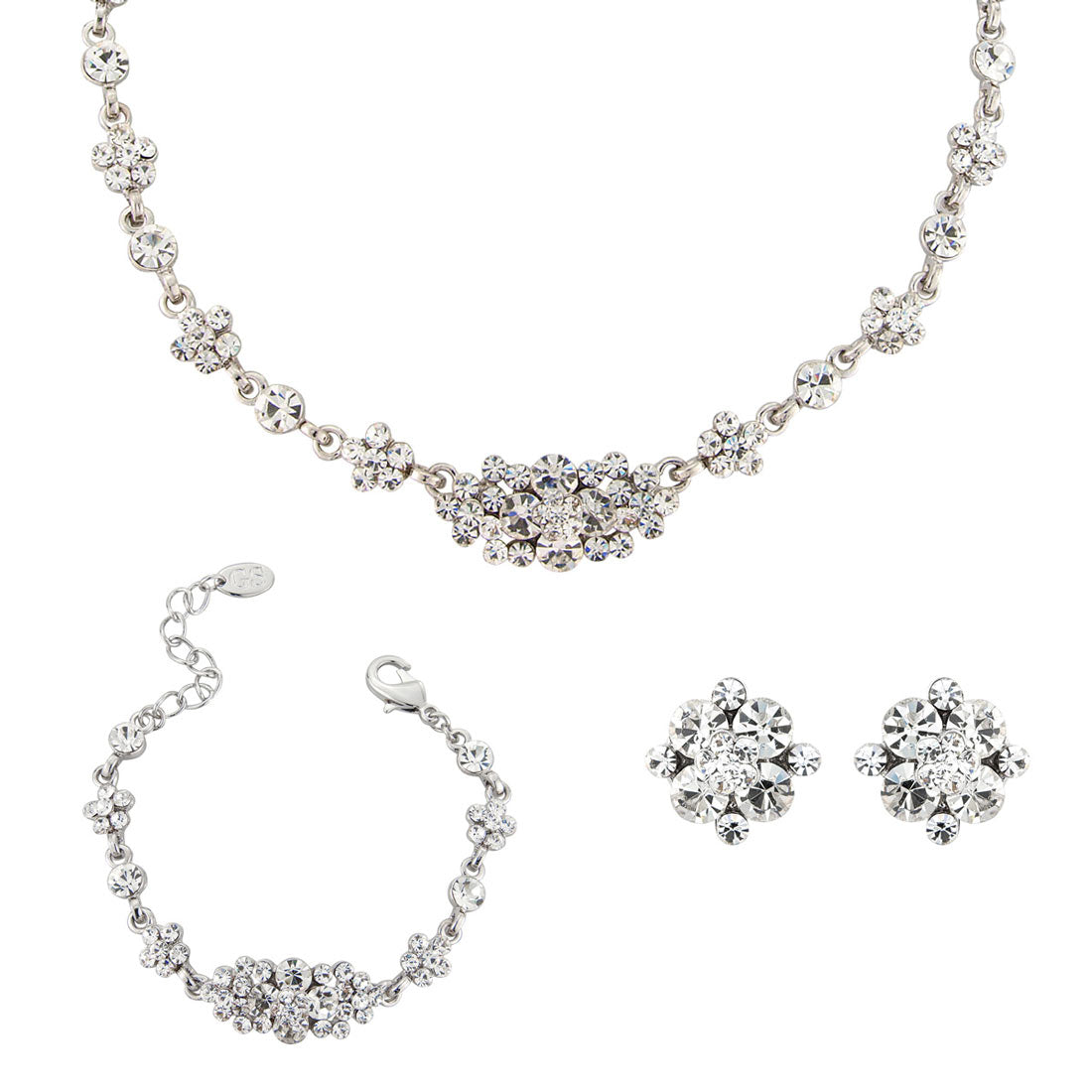 Starlet of Class crystal wedding jewellery set
