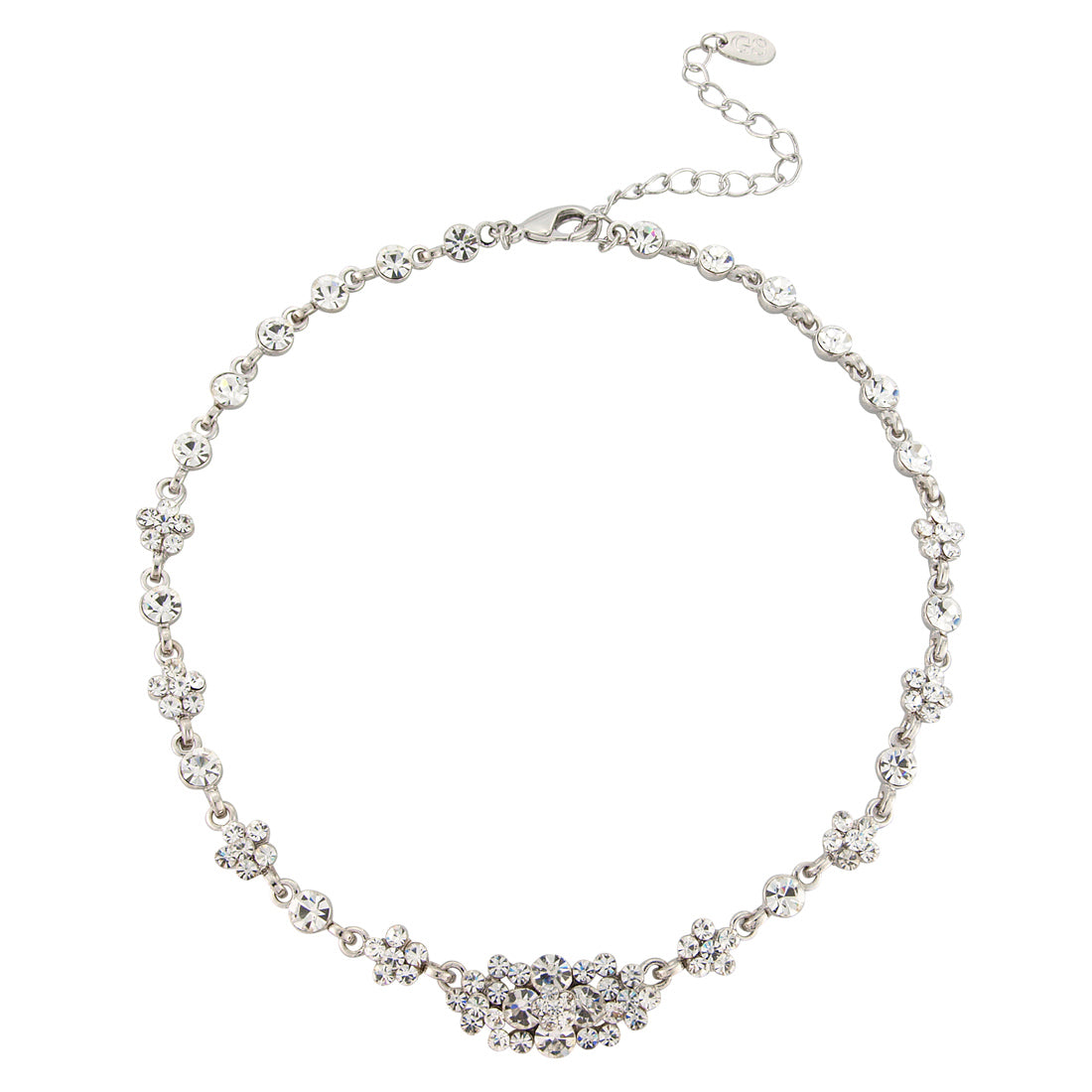 Starlet of Class vintage crystal wedding necklace