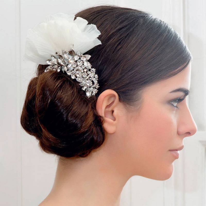 Starlet of Romance Bridal Hair Flower