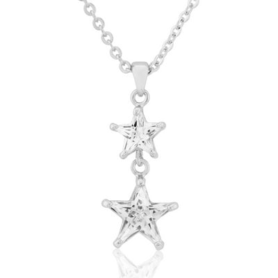 Starlight Crystal Wedding Pendant
