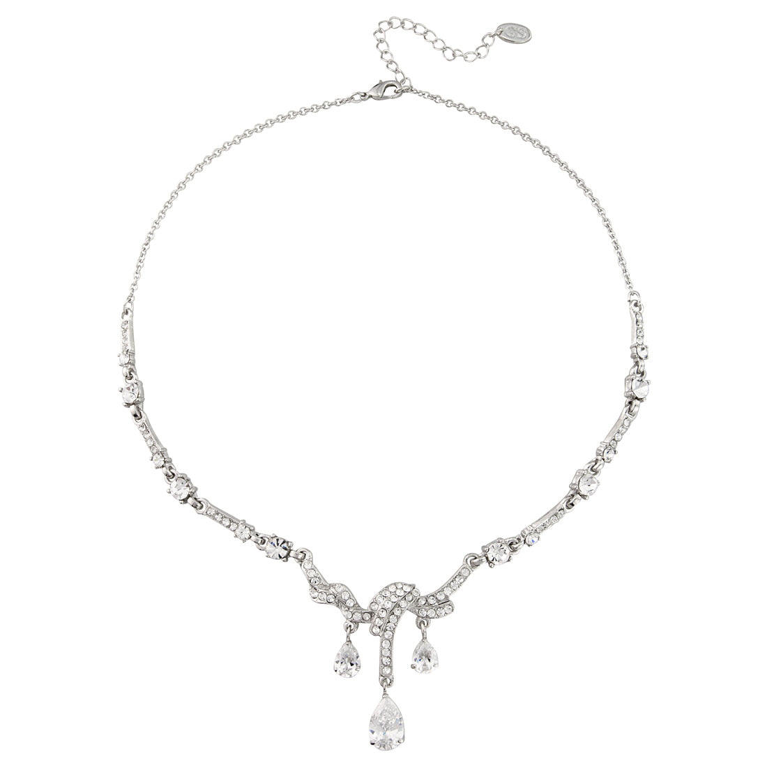 Timeless Beauty Crystal Bridal Necklace