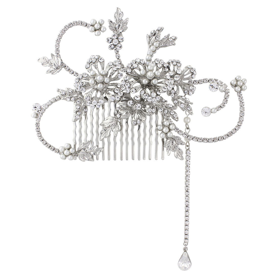 Twenties Heiress Vintage Wedding Hair Comb