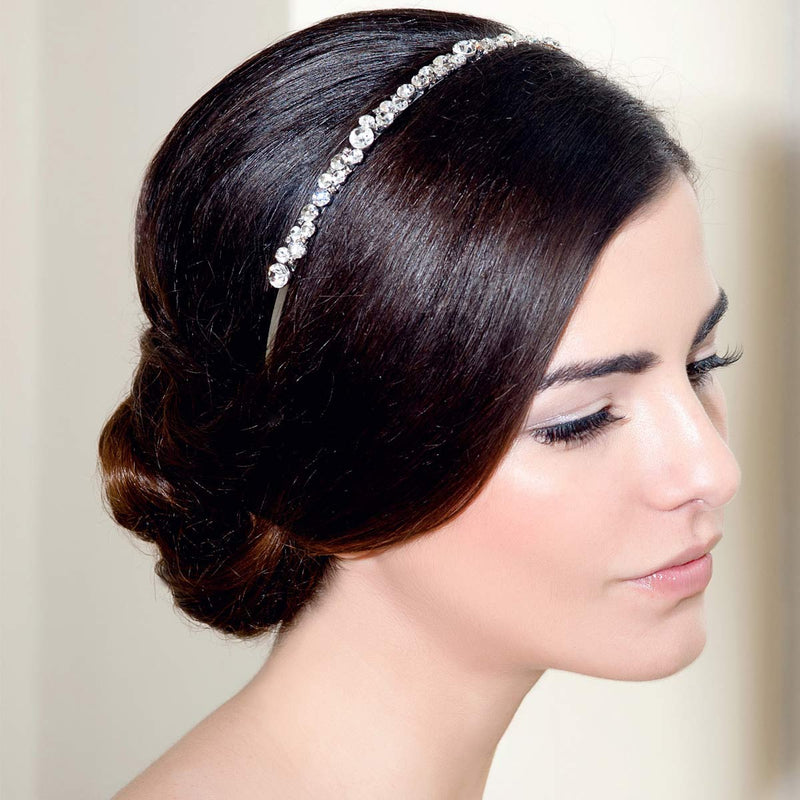 Vintage Love Crystal wedding headband