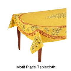 Motif Placé Tablecloth