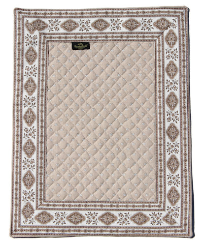 Esterel Naturel Bordered French Place Mat