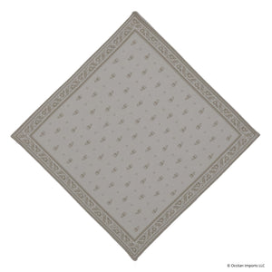 Durance Beige Jacquard French Napkin