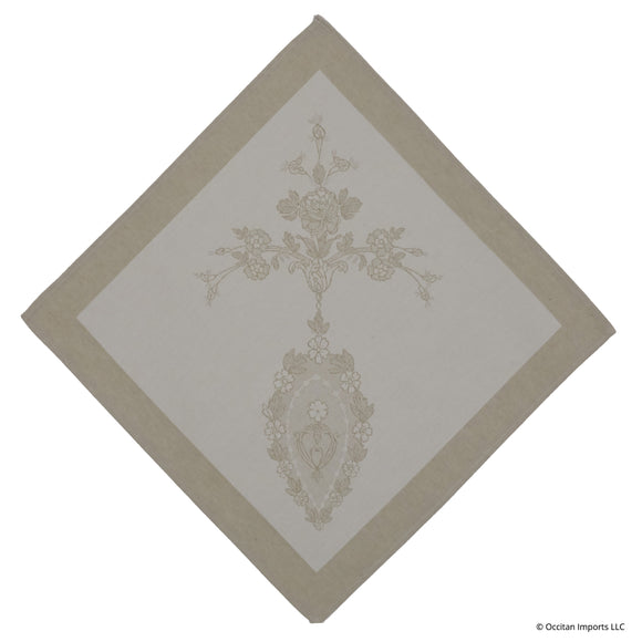 Luxe Versailles Naturel French Jacquard Napkin