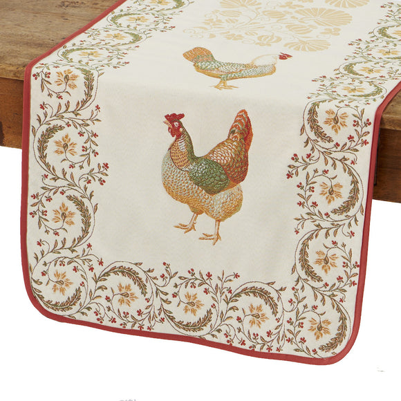 Chantecler French Table Runner