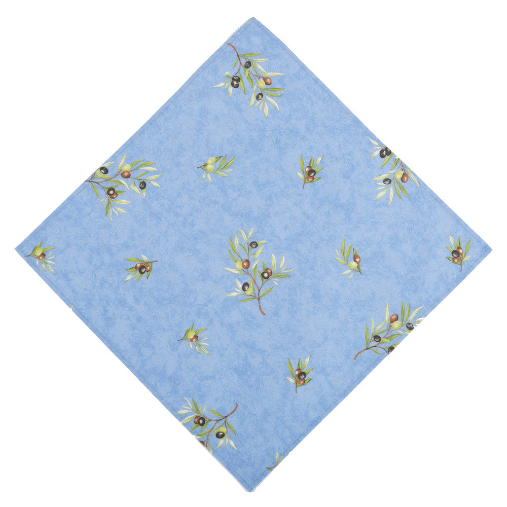 Clos des Oliviers Bleu All Over French Napkin