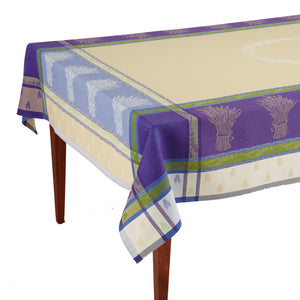 Lavandine Lavande Jacquard French Tablecloth