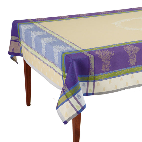 Lavandine Lavande French Jacquard Tablecloth