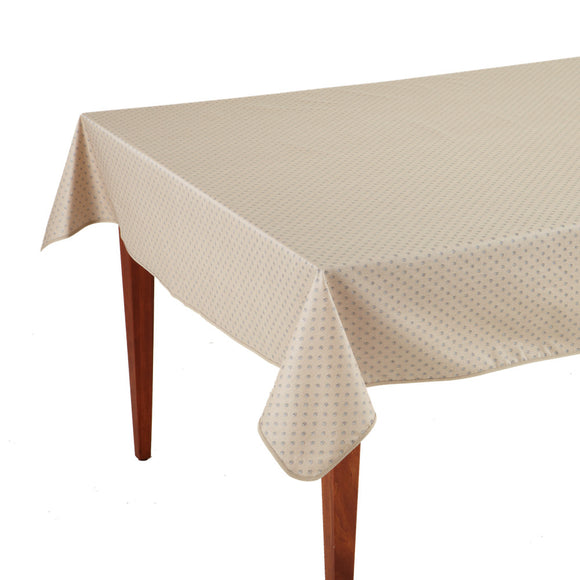 Esterel Naturel Rectangular French Tablecloth