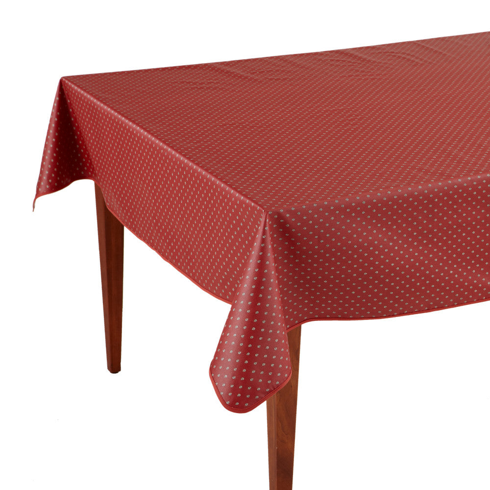 Esterel Terre Cuite Rectangular French Tablecloth