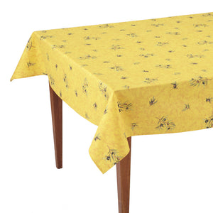 Clos des Oliviers Safran All Over Rectangular French Tablecloth